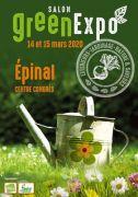 Salon Green Expo à Épinal 88000 Epinal du 14-03-2020 à 09:00 au 15-03-2020 à 18:00