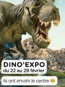 Dino'Expo à Cora Houdemont 54180 Houdemont du 22-02-2020 à 08:30 au 29-02-2020 à 21:00