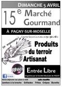 Marché Gourmand à Pagny-sur-Moselle 54530 Pagny-sur-Moselle du 05-04-2020 à 09:30 au 05-04-2020 à 18:00