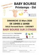 Baby Bourse de Printemps à Uxegney 88390 Uxegney du 15-03-2020 à 10:00 au 15-03-2020 à 16:00