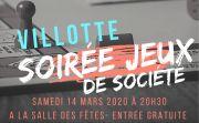 Soirée Jeux De Société à Villotte 88320 Villotte du 14-03-2020 à 20:30 au 14-03-2020 à 23:30