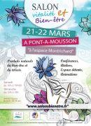 Salon Vitalité Bien-être à Pont-à-Mousson 54700 Pont-à-Mousson du 21-03-2020 à 10:00 au 22-03-2020 à 18:00