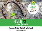 Saint-Patrick Ferme Auberge de la Mexel Gérardmer 88400 Gérardmer du 15-03-2020 à 12:00 au 15-03-2020 à 15:00