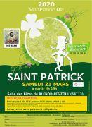 Saint-Patrick à Blénod-lès-Toul 54113 Blénod-lès-Toul du 21-03-2020 à 19:00 au 21-03-2020 à 23:30