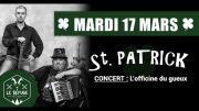 Saint-Patrick à Sarrebourg Bistrot Le Refuge 57400 Sarrebourg du 17-03-2020 à 19:00 au 17-03-2020 à 23:00