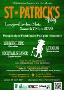 Saint-Patrick à Longeville-lès-Metz 57050 Longeville-lès-Metz du 07-03-2020 à 18:00 au 07-03-2020 à 23:00