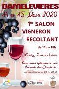 1er Salon Vigneron Récoltant à Damelevières 54360 Damelevières du 14-03-2020 à 11:00 au 14-03-2020 à 18:00