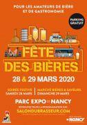 Fête des Bières Nancy Salon du Brasseur 54500 Vandoeuvre-lès-Nancy du 27-03-2020 à 09:00 au 29-03-2020 à 18:00