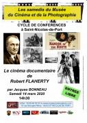 Conférence Le cinéma de Robert Flaherty St-Nicolas-de-Port  54210 Saint-Nicolas-de-Port du 14-03-2020 à 14:30 au 14-03-2020 à 17:00