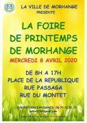 Foire de Printemps à Morhange 57645 Morhange du 08-04-2020 à 08:00 au 08-04-2020 à 17:00