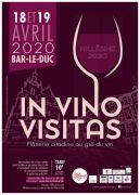In Vino Visitas Salon du Vin à Bar-le-Duc 55000 Bar-le-Duc du 18-04-2020 à 10:00 au 19-04-2020 à 18:00