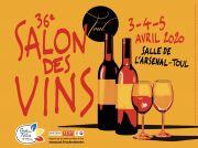 Salon des Vins de Toul 54200 Toul du 03-04-2020 à 14:00 au 05-04-2020 à 18:00
