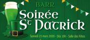 Saint Patrick à Barr  Salle des fêtes Place de l'Hotel de Ville 67140 Barr du 21-03-2020 à 19:00 au 21-03-2020 à 23:59