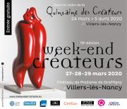 Quinzaine des Créateurs à Villers-lès-Nancy 54600 Villers-lès-Nancy du 24-03-2020 à 14:00 au 05-04-2020 à 19:00