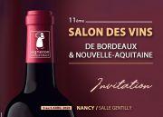 Salon des Vins Bordeaux et Aquitaine à Nancy  54000 Nancy du 03-04-2020 à 15:00 au 05-04-2020 à 18:00