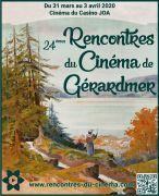 Rencontres du Cinéma de Gérardmer  88400 Gérardmer du 31-03-2020 à 14:00 au 03-04-2020 à 22:30