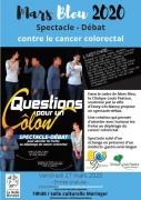 Spectacle-débat Questions pour un Côlon à Essey-lès-Nancy 54270 Essey-lès-Nancy du 27-03-2020 à 19:30 au 27-03-2020 à 21:30