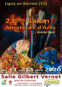 Salon des Amateurs d'Arts à Ligny-en-Barrois 54330 Vézelise du 11-04-2020 à 14:00 au 13-04-2020 à 18:00
