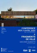 Conférence Fragments de Ville à Nancy 54000 Nancy du 08-04-2020 à 18:00 au 08-04-2020 à 20:00