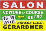 Salon de la Voiture de Course Retro à Gérardmer 88400 Gérardmer du 18-04-2020 à 14:00 au 19-04-2020 à 17:30