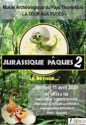 Chasse aux Oeufs Jurassique Pâques à Thionville 57100 Thionville du 11-04-2020 à 13:30 au 11-04-2020 à 18:00