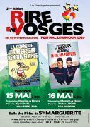 Festival d'Humour Rire en Vosges Sainte-Marguerite 88100 Sainte-Marguerite du 15-05-2020 à 20:30 au 16-05-2020 à 23:00