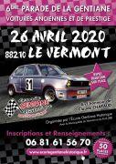 Voitures Anciennes Vosges Parade de la Gentiane 88210 Le Vermont du 26-04-2020 à 07:30 au 26-04-2020 à 18:00