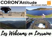 CoronAttitude 5 : Evasion en Webcams Meurthe-et-Moselle, Vosges, Meuse, Moselle du 25-03-2020 à 10:00 au 30-06-2021 à 19:00