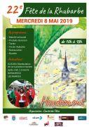 Fête de la Rhubarbe à Houdemont Annulée 54180 Houdemont du 08-05-2020 à 10:00 au 08-05-2020 à 18:00