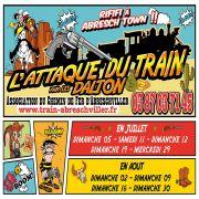 Attaque du Train à Abreschviller 57560 Abreschviller du 05-07-2020 à 14:30 au 30-08-2020 à 18:00