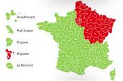 Déconfinement différences entre Départements Verts et Rouges Meurthe-et-Moselle, Vosges, Meuse, Moselle du 06-05-2020 à 10:00 au 20-06-2020 à 19:00
