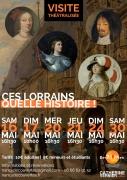 Visite théâtraliséeNancy ces Lorrains quelle histoire! 54000 Nancy du 16-05-2020 à 16:30 au 30-05-2020 à 18:00