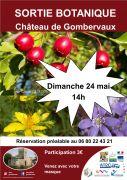 Sortie Botanique Château de Gombervaux Vaucouleurs 55140 Vaucouleurs du 24-05-2020 à 14:00 au 24-05-2020 à 17:00