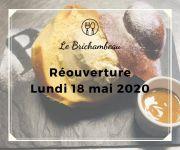 Reprise d'Activité au Brichambeau à Vandoeuvre-lès-Nancy 54500 Vandoeuvre-lès-Nancy du 18-05-2020 à 10:00 au 20-06-2020 à 19:00