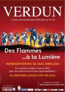 Spectacle Des Flammes à la Lumière Verdun Annulé 55100 Verdun du 19-06-2020 à 21:00 au 25-07-2020 à 23:59