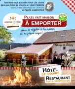 Repas à Emporter Gérardmer Auberge de Liézey  88400 Liézey du 19-05-2020 à 12:00 au 20-06-2020 à 21:00