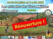 Vieux Métiers Azannes : Les Estivales 55150 Azannes-et-Soumazannes du 12-07-2020 à 10:00 au 02-08-2020 à 18:00