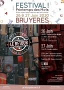 Festival Le Printemps des Mots à Bruyères