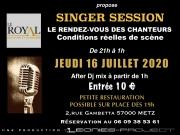 Singer Session à Metz 57000 Metz du 16-07-2020 à 19:00 au 17-07-2020 à 02:00