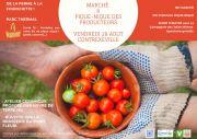 Marché et Pique-Nique des Producteurs à Contrexéville 88140 Contrexéville du 28-08-2020 à 16:00 au 28-08-2020 à 21:00