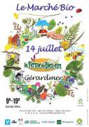 Marché Bio à Gérardmer 88400 Gérardmer du 14-07-2020 à 09:00 au 14-07-2020 à 19:00