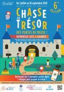 Chasse au Trésor Des Portes de Meuse Meuse du 01-07-2020 à 10:00 au 30-09-2020 à 18:00