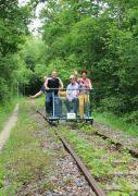 Vélo-Rail à Bar-le-Duc en Forêt de Massonges