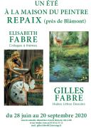 Exposition Gilles Fabre Maison du Peintre à Repaix 54450 Repaix du 28-06-2020 à 14:00 au 20-09-2020 à 18:00