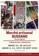 Marché Artisanal de Bussang 88540 Bussang du 21-07-2020 à 17:00 au 25-08-2020 à 21:00