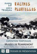 Racines Plurielles Exposition à Remiremont 88200 Remiremont du 01-07-2020 à 10:00 au 20-09-2020 à 18:00