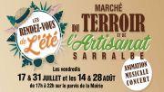 Marché Nocturne Terroir et Artisanat à Sarralbe 57430 Sarralbe du 17-07-2020 à 17:00 au 28-08-2020 à 22:00