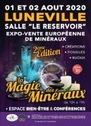 Salon La Magie des Minéraux à Lunéville