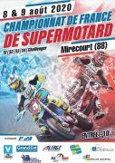 Championnat de France Supermotard à Juvaincourt 88500 Juvaincourt du 08-08-2020 à 08:00 au 09-08-2020 à 18:30