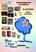 Programme Saison 2020/2021 MJC Yutz 57970 Yutz du 07-09-2020 à 20:00 au 27-06-2021 à 23:59